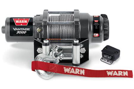 Лебедка Warn Vantage 3000 (стальной трос) 89030