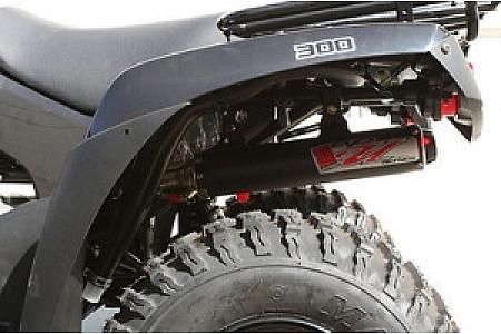 Полная выхлопная система BigGun серия EVO UTILITY для Kawasaki BRUTE FORCE 650 750