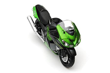 Модель KAWASAKI ZX14 2011 Зеленый 1:12 57433B 959-0027