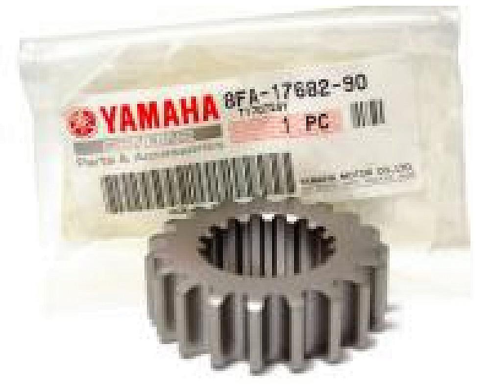 Приводная звезда коробки передач (19 зубов) снегохода Yamaha RX-1 APEX NYTRO VECTOR VENTURE ATTAK VIKING 2005-2014 8FA-17682-90-00