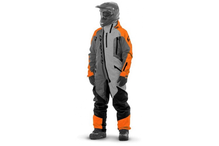 Комбинезон (моносьют) для снегохода Dragonfly Extreme 2020 Orange-Grey 820200-20-996 Размер М
