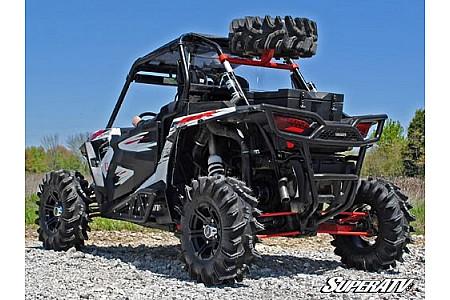 Крепление запасного колеса Polaris RZR 1000 черное Super ATV STC-P-RZR1K-00