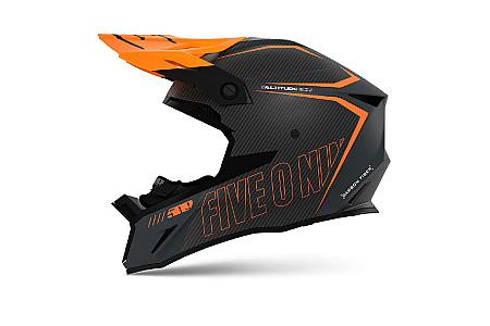 Шлем 509 Altitude 2.0 Carbon 3K Orange Gray 2021 Размер М