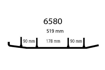 Коньки Yamaha EYV3-6580 /8EN-23731-00-XX /SMA-F3731-EN-00 /8EN-23731-01-00 /EPISN135 /WB-000-642