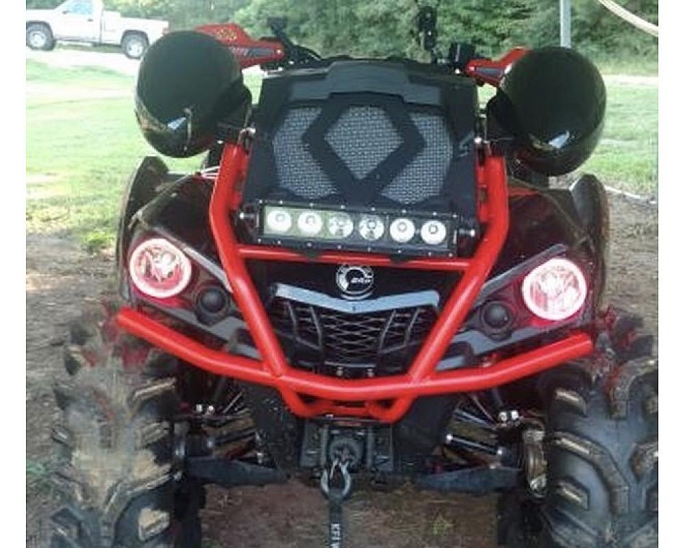 Ангельские глазки для квадроцикла BRP Can-Am Outlander L 570 XMR 450 (красные) HLS-570-RD