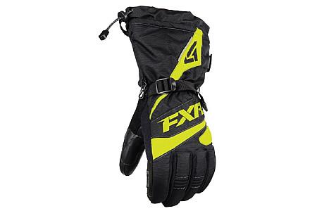 Перчатки FXR Fuel мужские (Black Hi Vis) 190804-1065