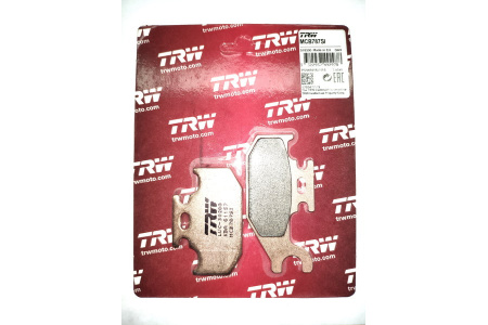 Тормозные колодки Lucas TRW левые правые для Suzuki Kingquad 750 / BRP Outlander G1 MCB787SI FA413 FA317 FA414 FA307 59100-31880 59100-31870 705600014 705600004 Левая сторона