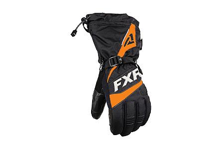 Перчатки FXR Fuel 2020 мужские с утеплителем (Black Orange) 200800-1030
