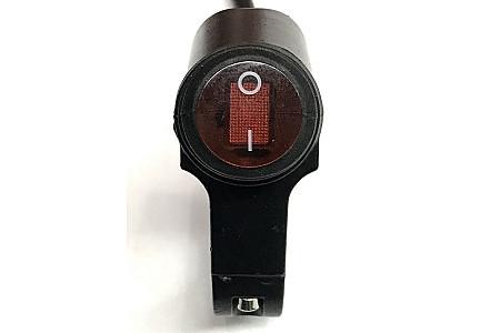 Кнопка на руль RiderLab CS-677A1 алюминий влагозащищенная с подсветкой