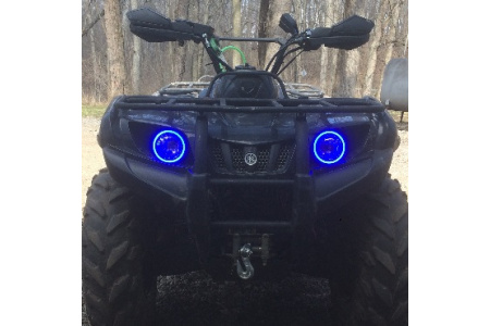 Ангельские глазки для квадроцикла Yamaha Grizzly 700 HLS-GZ-BT