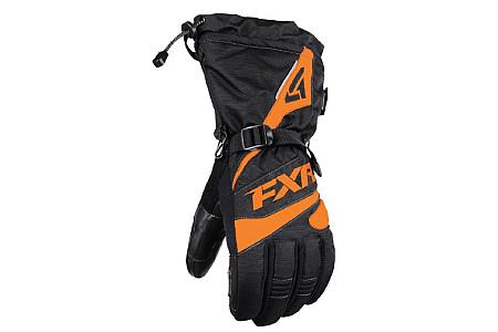 Перчатки FXR Fuel мужские (Black Orange) 190804-1030 (Размер М) M
