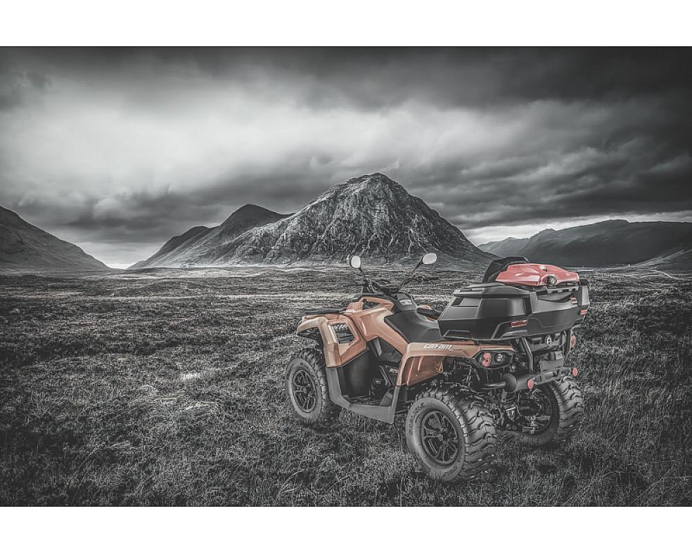 Кофр GKA TESSERACT для BRP Can Am Outlander 570 tessg2570