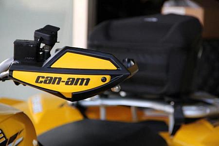Защита рук для ATV CAN-AM (BRP) 715000733 703100565 715003812  715000537 715006118 Жёлто-чёрная