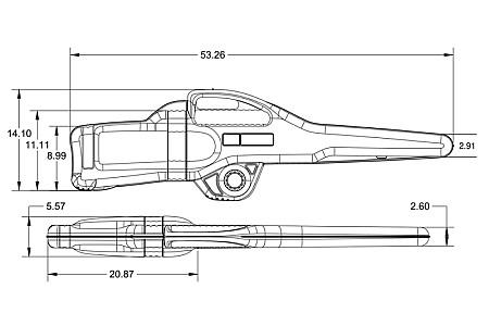 Ружейный чехол Kolpin KXP Gun Boot, серия 5.0 Transport с кронштейном для Polaris 20096