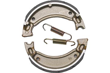 Передние тормозные колодки барабанные EBC для Yamaha Grizzly 125 503G FA503 43D-F510L-01-00 5G3-W2536-00-00 /4BE-W2536-00-00 5H0-W2536-00-00 4KN-W253E-11-00 4KN-W253E-11-00 Метализированная синтетика