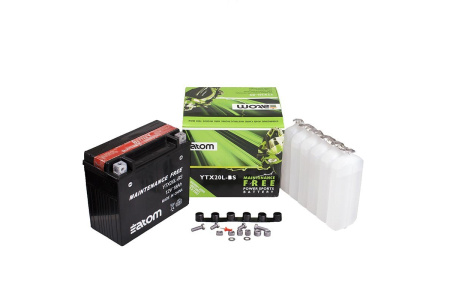 Аккумулятор Atom YTX-20L-BS (OEM. YTX-20LBS-00-00)