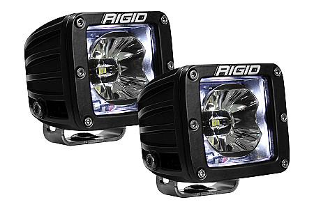 Radiance Pod (3 светодиода) Белая подсветка (пара)