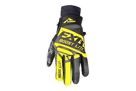 Перчатки FXR Boost Black Hi Vis без утеплителя мужские 180809-1065