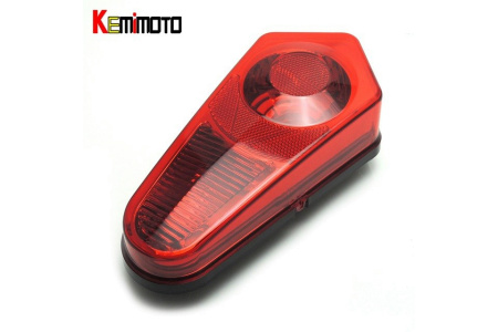 Корпус заднего стоп-сигнала для квадроцикла RZR 800 Sportsman 2411153 2411154 FTVHL003RD красный