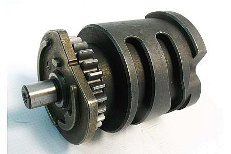 Вал копирный механизма переключения передач Гепард LU075238