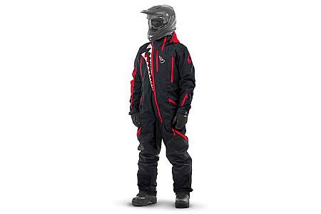 Комбинезон (моносьют) для снегохода Dragonfly Extreme 2020 Black-Red 820200-20-321 Размер S