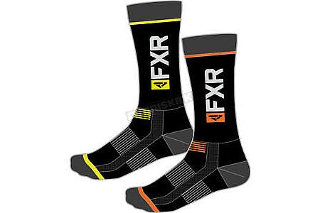 Носки FXR Racing Orange Hi-Vis Turbo Athletic Socks 201637-3065-00