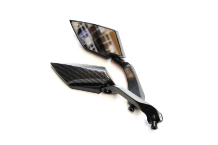 Зеркала заднего вида карбон 8mm 10mm правая левая резьба JP-2045-1 SF-036