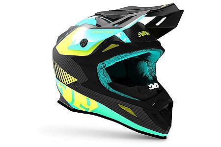 Шлем 509 Altitude Carbon Teal 2020 (Размер М) Размер М
