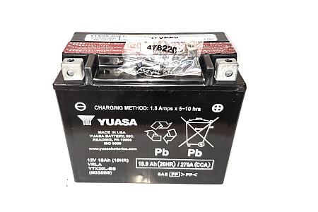 Аккумулятор Yuasa (оригинал США) YTX20L-BS