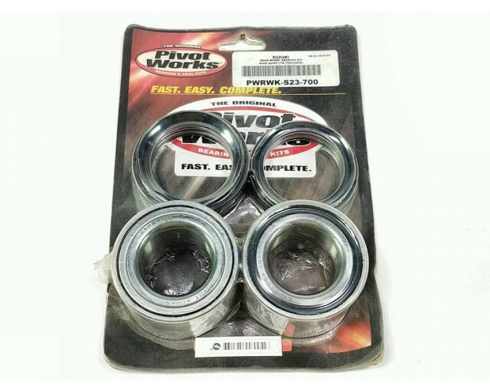 Подшипники с сальниками задней ступицы для Suzuki KingQuad PivotWorks PWRWK-S23-700 43440-84F00 43440-58J00 61615-31G00 61616-31G00