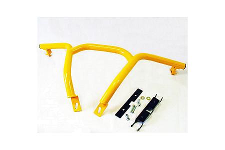 Бампер передний Гепард (STELS) желтый LU081551