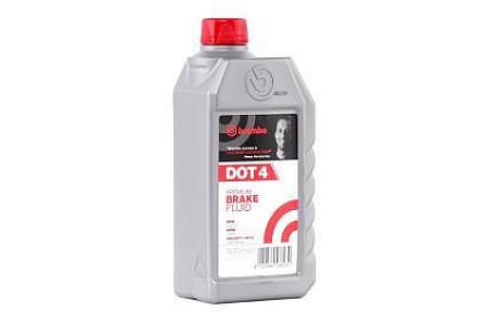 Жидкость тормозная BREMBO DOT 4 L04005