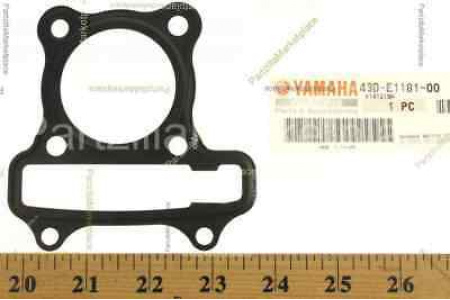 Прокладка ГБЦ двигателя для квадроцикла Yamaha Raptor 90 2009-2013 43D-E1181-00-00
