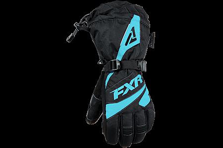 Перчатки FXR Fusion с утеплителем, взрослые, жен. (Black Mint, XS) 190820-1052-04 Размер XS