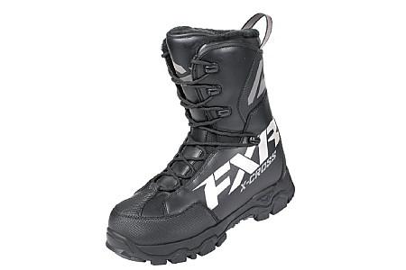 Ботинки FXR X-Cross Pro Black Ops с утеплителем (взрослые) 200700-1010