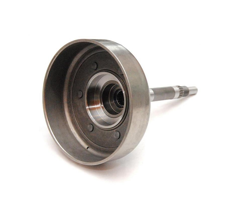 Колокол сцепления квадроцикла Yamaha Grizzly 660 / 5KM-16611-10-00 / 5KM-16611-10-N + Щека вариатора квадроцикла Yamaha Grizzly / Rhino 660 / 5KM-17611-00-00 / 5KM-17611-00-N Колокол (не подходит под оригинальную щеку)