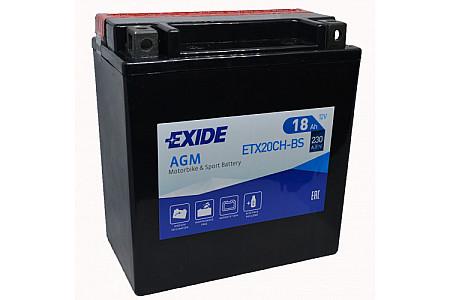 Aккумулятор EXIDE ETX20CH-BS YTX20CH-BS
