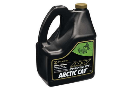 Масло синтетическое для снегоходов Arctic Cat APV (2T) 4L 6639-152