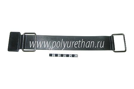 Ремень крепления аккумулятора снегохода 50-17-003 8DM-82131-10 PU54/M71/черный