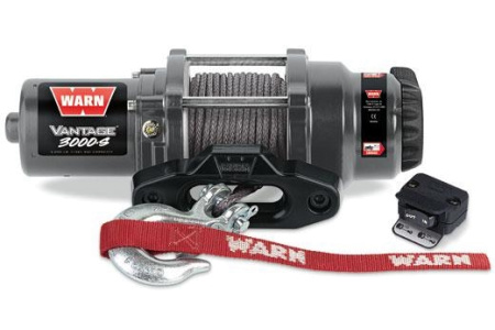 Лебедка для квадроцикла Warn Vantage 3000-S арт.91031