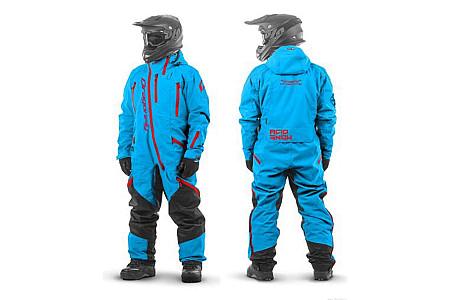 Комбинезон (моносьют) для снегохода Dragonfly Extreme 2020 Acid Blue 820200-20-442