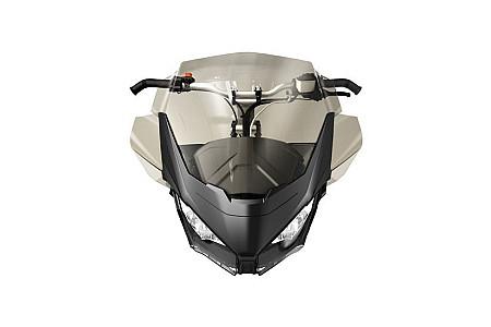 Комплект стекла с дефлекторами и суппортом Ski-Doo Gen4 43см Medium Windshield Kit 860201258