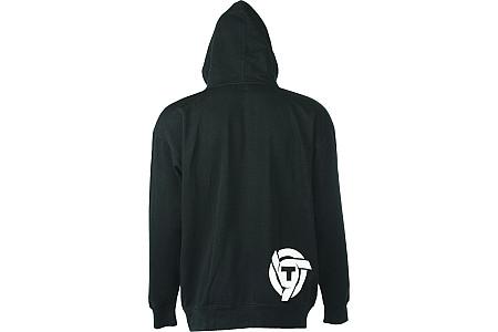 Толстовка TRIPLE 9 logo zip hoody цвет черный 37-2740 Размер XL