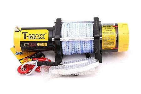 T-Max ATW PRO 3500 лебедка электрическая синт. трос