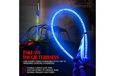 Флагшток с LED подсветкой и пультом управления TR801 TR801-09 TR801-12 TR801-15 1,2 м