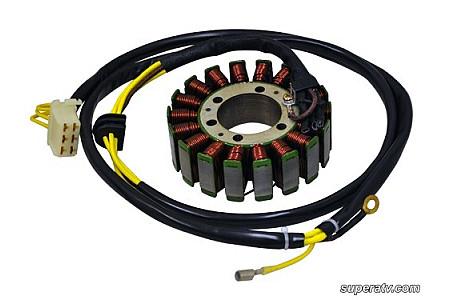 Статор генератора для Polaris Sportsman 800 EFI/700 EFI 02-06, Ranger 700 EFI 05 4010709 4010911 2202602 Super ATV STAT-P/ST194CA