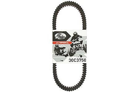 Усиленный ремень вариатора Gates Carbon BRP Can-Am 500-1000 715900212 422280364 30C3750