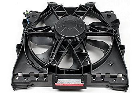 Вентилятор охлаждения радиатора в сборе квадроцикла BRP CanAm Outlander Reneg Maverick G2 709200462