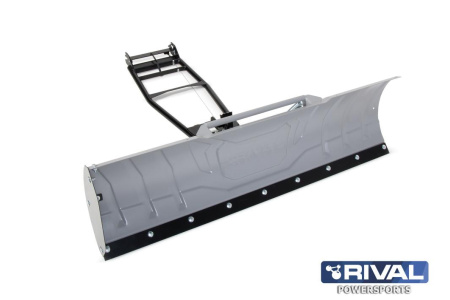 KIT SNOW PLOW 150CM (Silver) INCL. QUICK ATTACHMENT SYSTEM+FITTING KIT