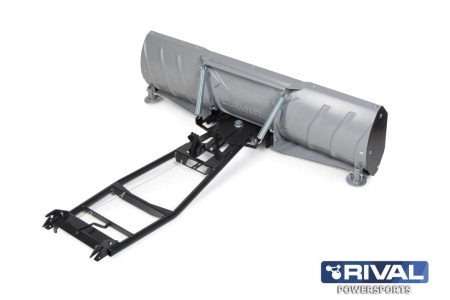 KIT SNOW PLOW 137CM(Silver) INCL. QUICK ATTACHMENT SYSTEM+FITTING KIT